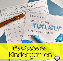 Kinder Math!
