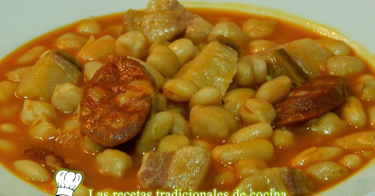 Receta de potaje de alubias y garbanzos recetas de - Garbanzos con costillas ...