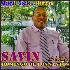DOMINGO DE LOS SANTOS (SAVIN) ALCALDE 2020-2024 VICENTE NOBLE
