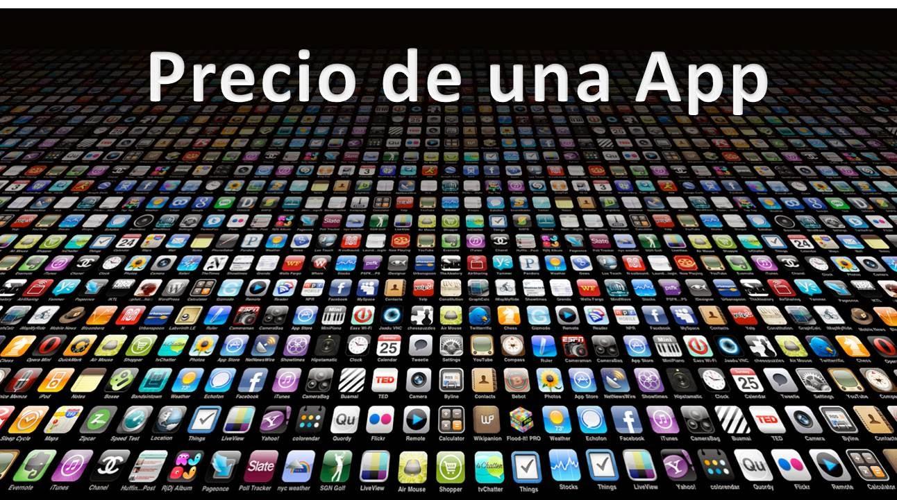 Precio de hacer una App