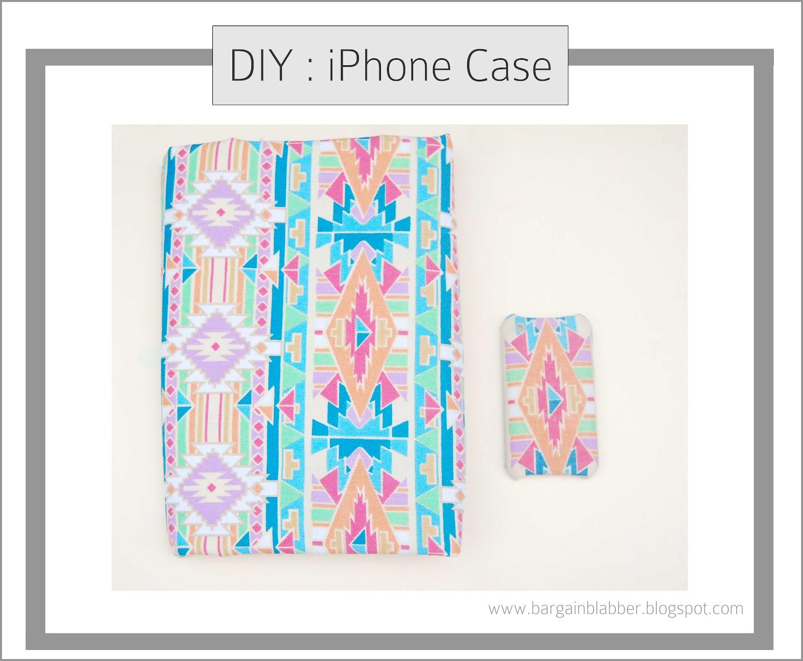 Diy iphone case bargain blabber for Homemade iphone case