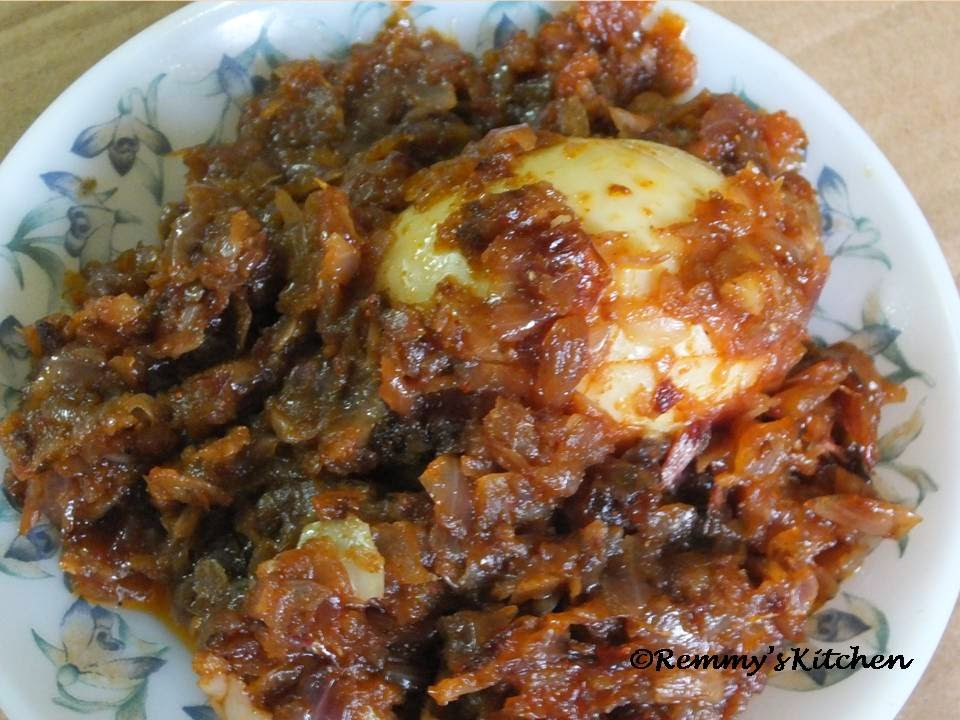 Egg roast - Easy method