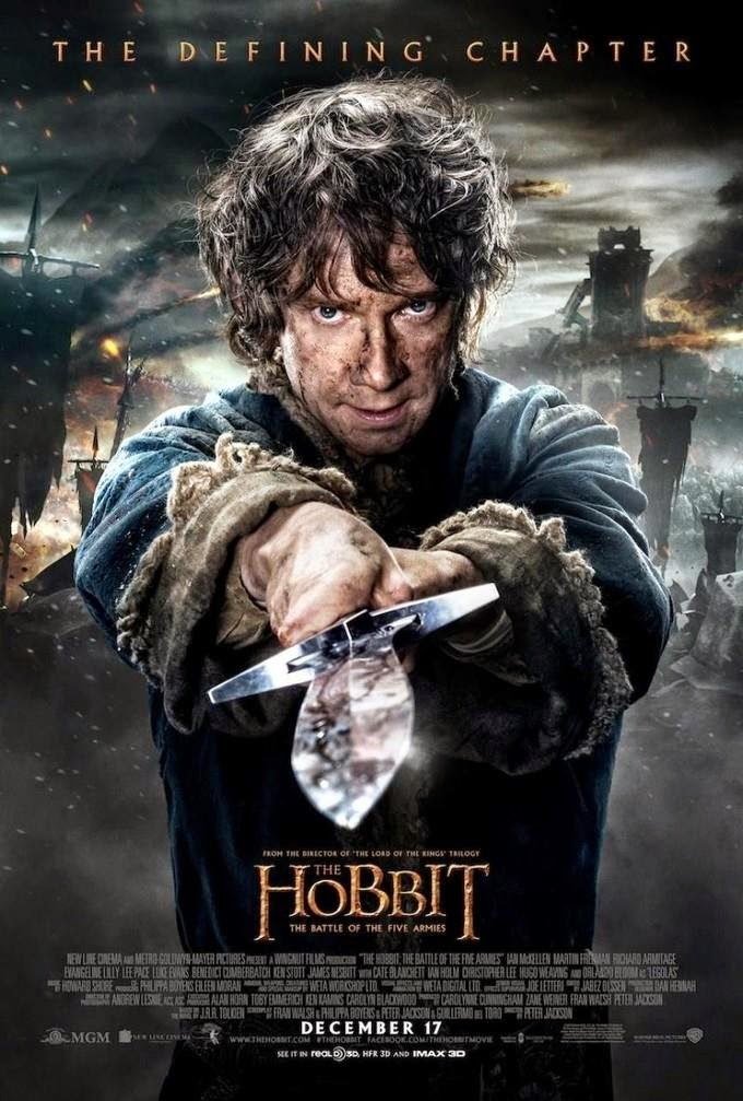 The Hobbit Movie Blog: New Poster for The Hobbit: The ...