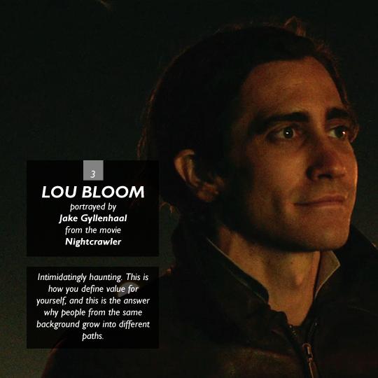 Lou Bloom from Nightcrawler