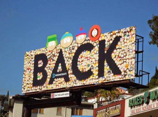South Park season 18 billboard