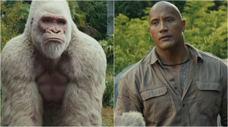 Dwayne Johnson and the Gay gorilla