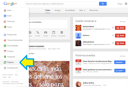 Google+, Redes Sociales, Social Media, Páginas, Marketing Digital, Propiedad