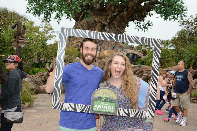 first visit at animal kingdom