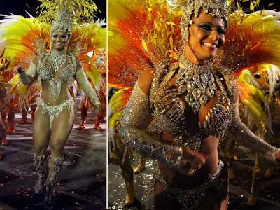 Fotos musas do Carnaval 2011 - São Paulo - 1° noite - Vivine Araujo