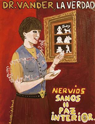Nervios sanos, Paz interior, Dr.Vander, la verdad, Agustí Garcia, Bad Painting, Pinturas, Agustí Garcia Monfort,