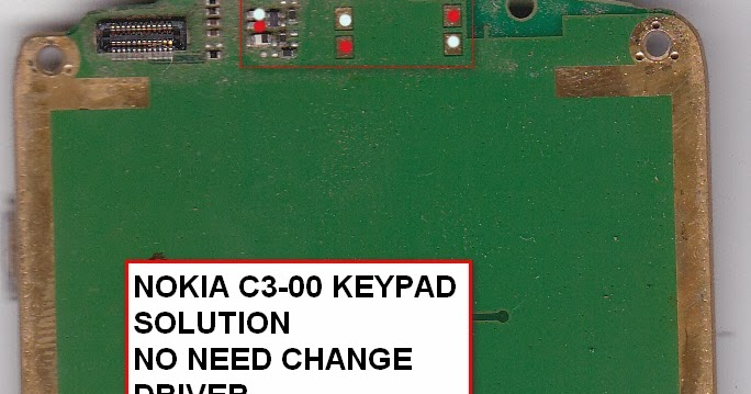 Nokia C3-00 Keypad Problem Solution Tested