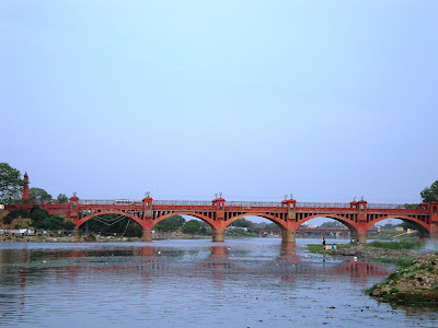 98 years old Hardinge Bridge in Lucknow Near Laxman Tila