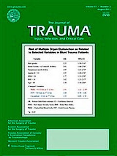 Journal of Trauma, Injury, Infection and Critical Care