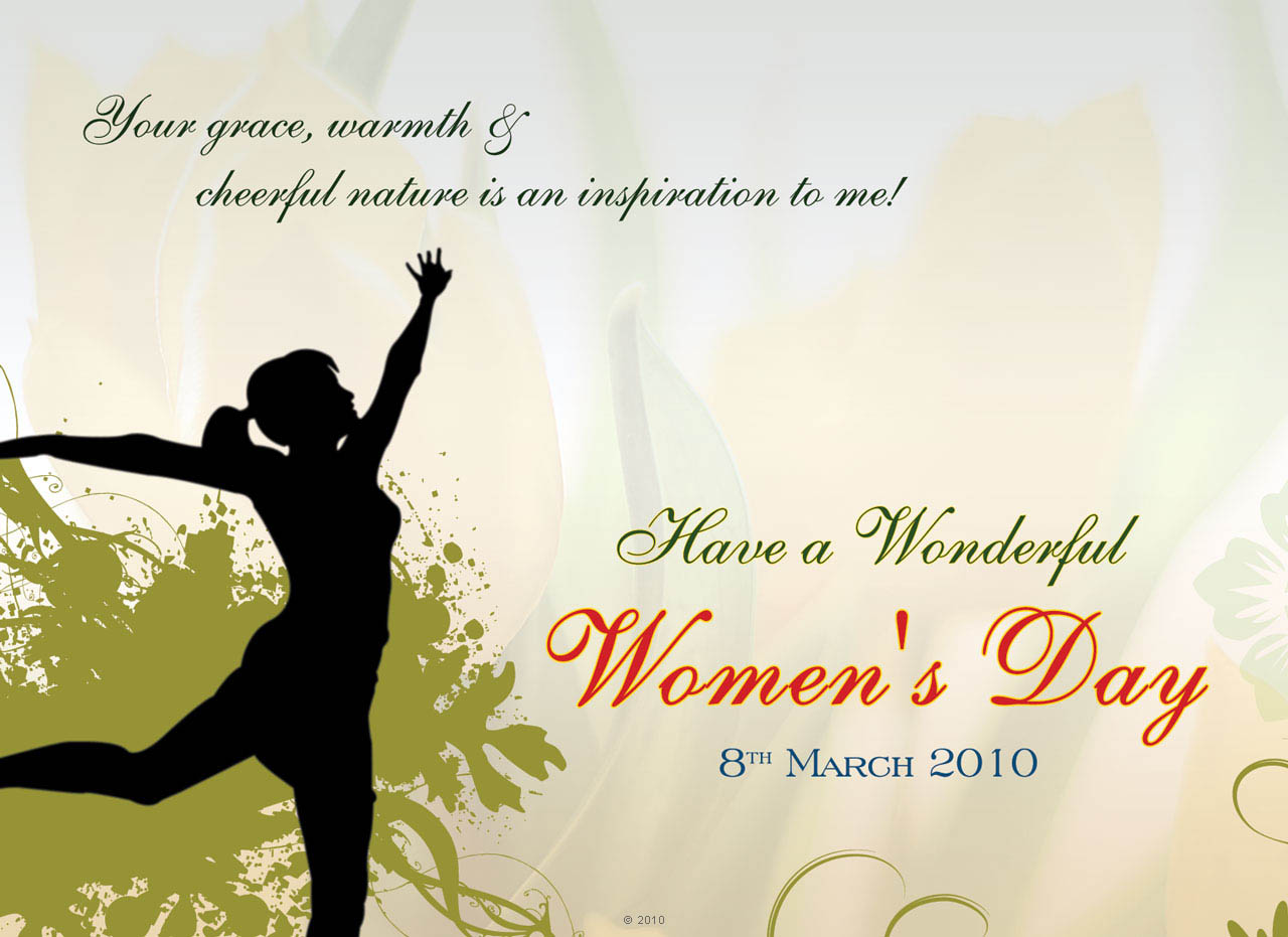 Menwomen Hairstyle Womens Day Greetings Ecards For International