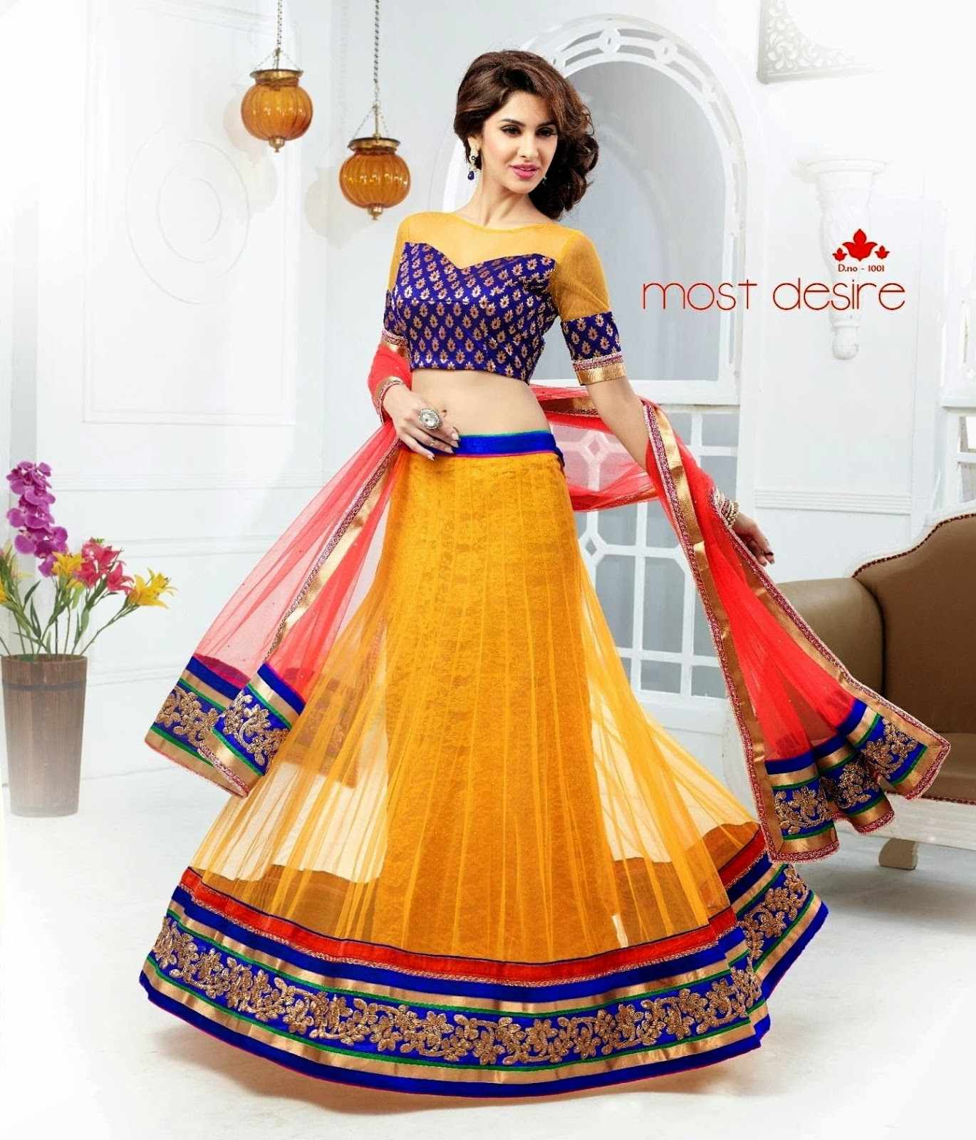 Wedding Lancha Images: Designer Sarees Online,Anarkali Suits Online,Indian Kurtis