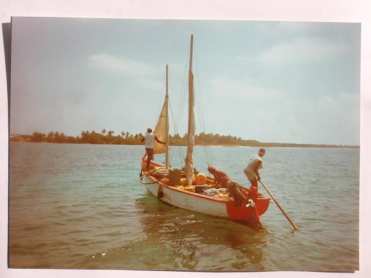 Local's sailboat