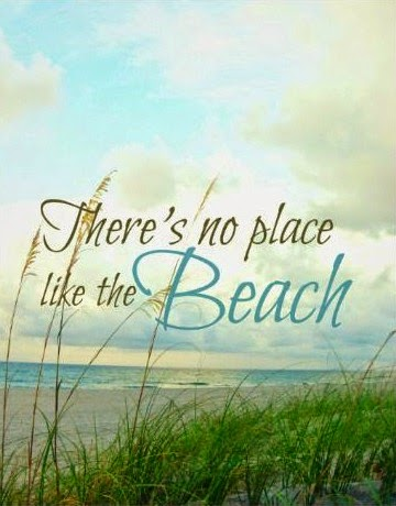 There is no place like the beach. Print.