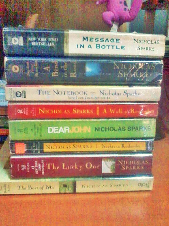 Nicholas Sparks Books