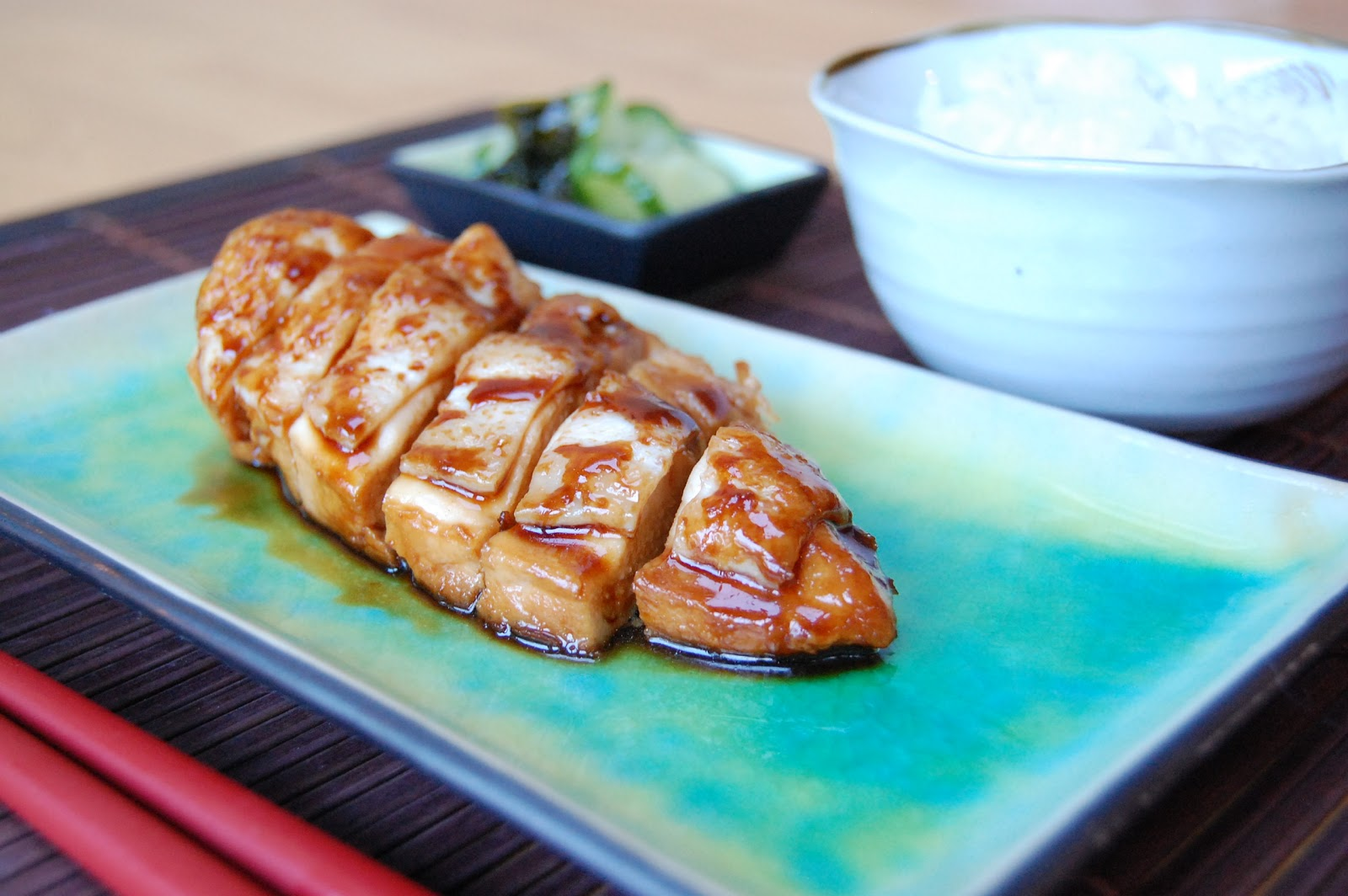 Fionas japanese cooking japanese chicken teriyaki serves 2 forumfinder Gallery