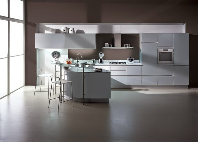 15 elegant minimalist kitchen designs with modern kitchen for Elegant modern kitchen designs