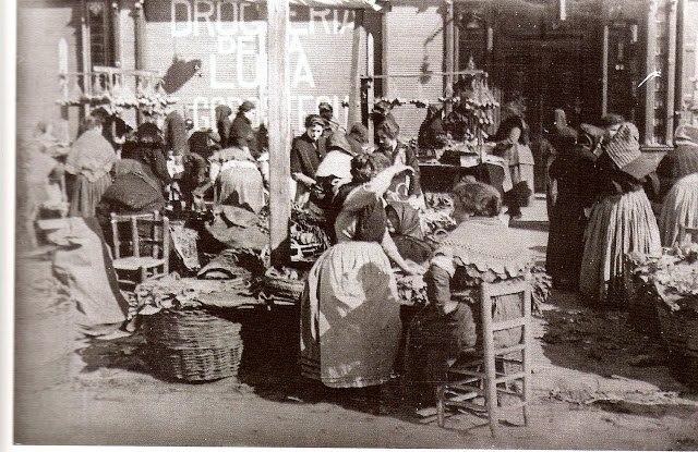 Catarroja gentes del ayer antiguas postales valencianas for Fotos antiguas de valencia