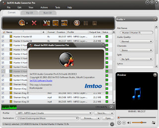 ImTOO Audio Converter Pro 6.5.0 Full Patch