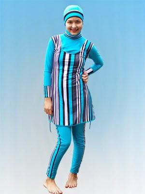 Model Baju Renang Muslimah Terbaru 2015