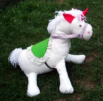 Sewing a unicorn