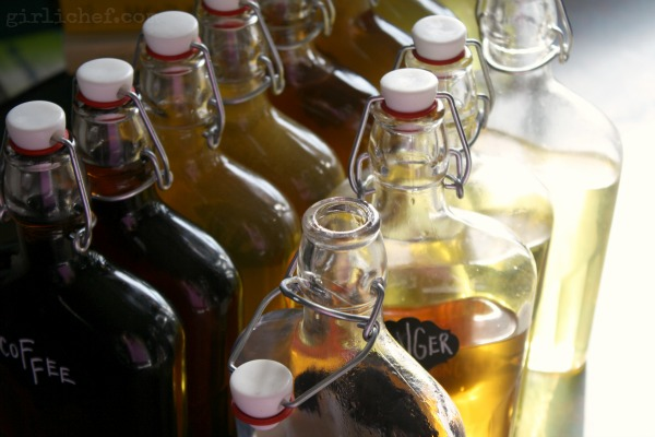DIY} Ginger Liqueur | All Roads Lead to the Kitchen