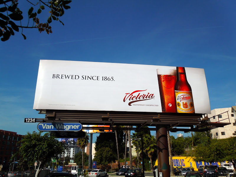 Victoria Beer billboard