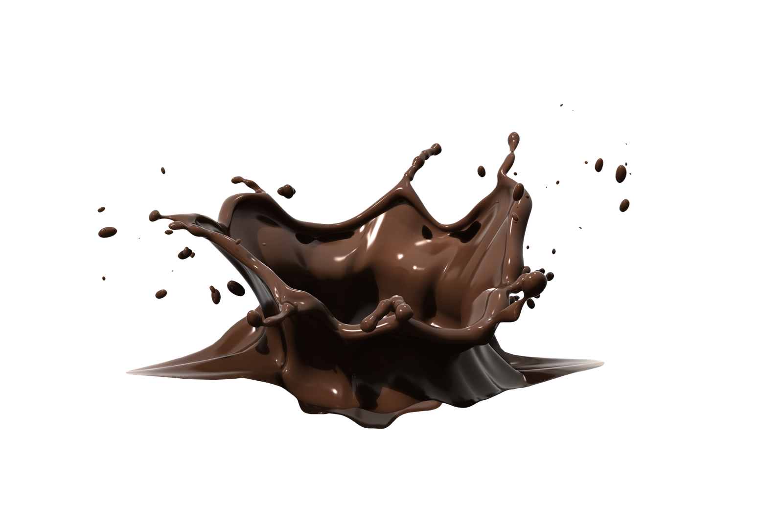 Creamy Caramel Chocolate Model