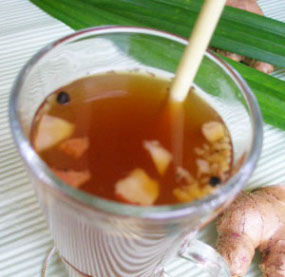 wedang red ginger stamina drinks recipe
