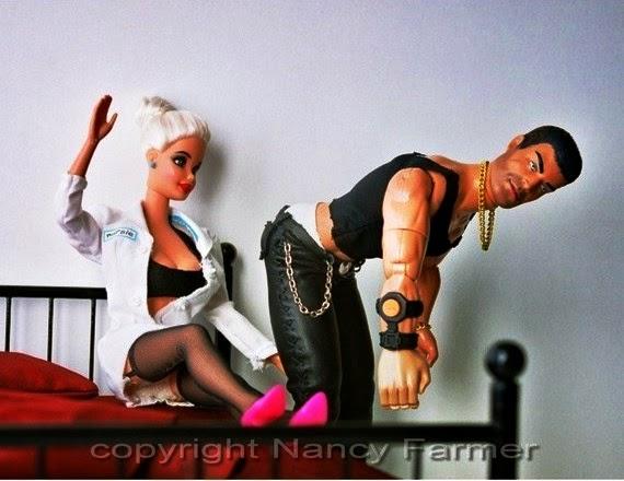 barbie bdsm kinky mistress ken slave nancy farmer