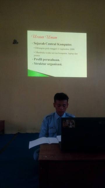 Ujian Laporan Praktek Kerja Industri TKJ SMK Negeri 2 Tambusai Utara