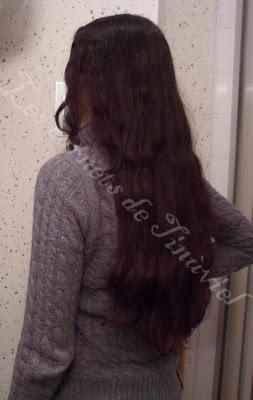 entre temps je nai pas refais dindigo sur les longueurs on peut voir quil a vraiment bien tenu sur 4 mois - Coloration Henn Noir