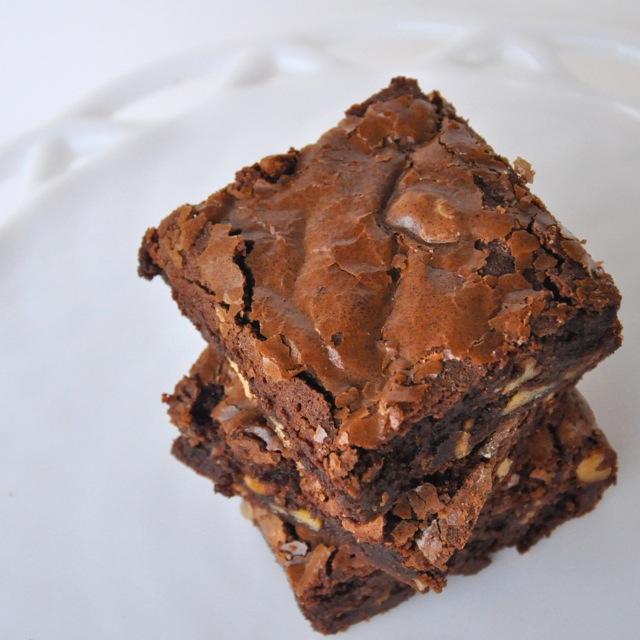 Baking on the Brain: Nutella Brownies