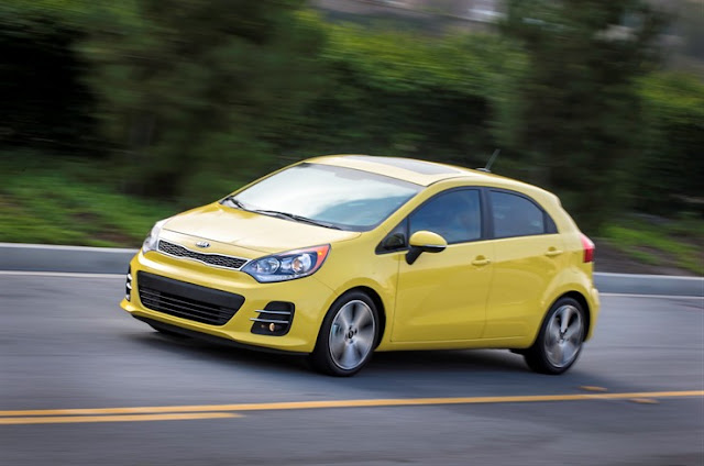 2016 Kia Rio SX in Digital Yellow