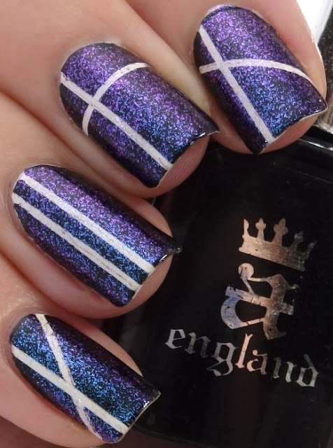 Aurora Borealis, Dollish Polish, Camelot, a-england, Stripping Tape