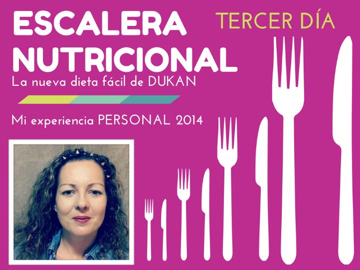 Vídeo de mi experiencia personal con la nueva dieta suave de Dukan ,LA ESCALERA NUTRICIONAL,mi tercer día el MIERCOLES de proteínas+verdura+fruta,deporte y más...