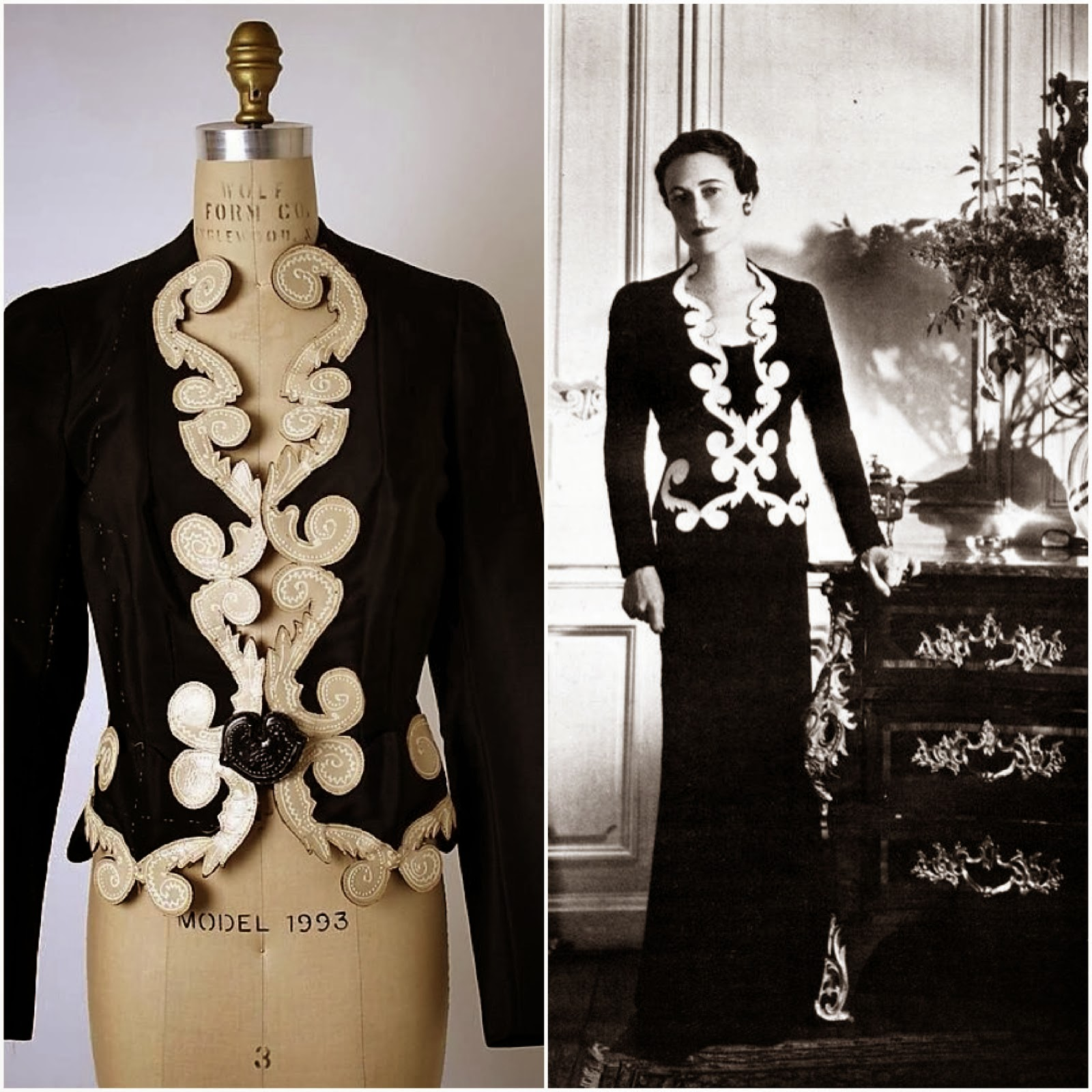 mainbocher wallis simpson gt fashion diary