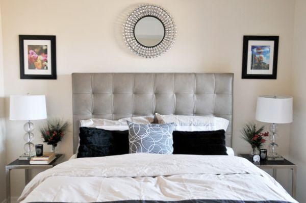dormitorios decorados en color plata ideas para decorar 25 best ideas about diy headboards on pinterest