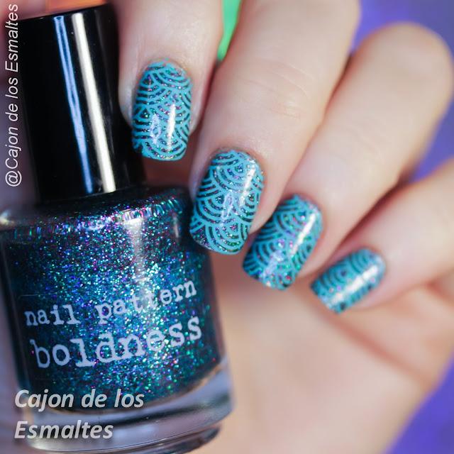 Placa Hehe 045 y Elderberry de Nail Pattern boldness