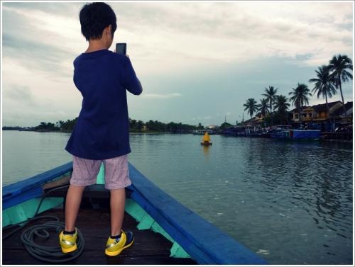 ホイアン 観光ボート