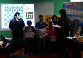 EDUARDO ZAVALA VARGAS fue el Campeon del Primer Torneo de Maestros Ajedrez Kids Arica 2015