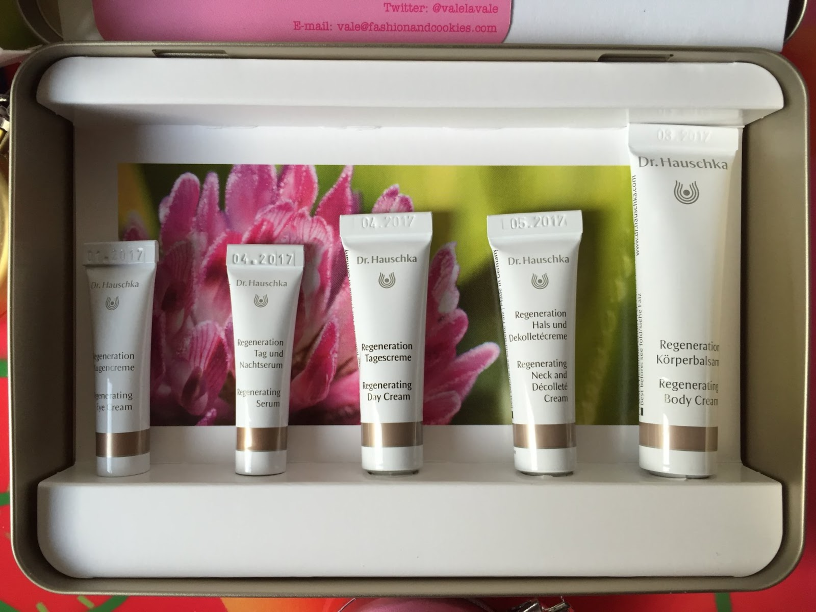 Dr. Hauschka Regenerating Skin Care Kit, best products for mature skin, Coffret Trattamento Rigenerante on Fashion and Cookies beauty blog, beauty blogger from Italy