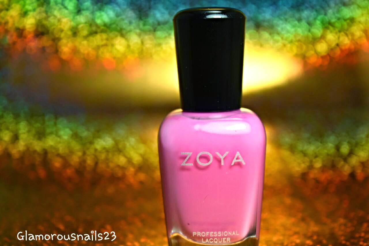 Eden, Bubblegum Pink Nail Polish, Zoya Delight Collection 2015
