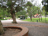 Play area of the park at prado montevideo uruguay