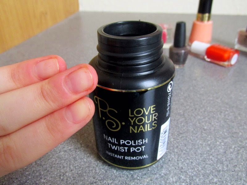 primark ps love nail varnish remover