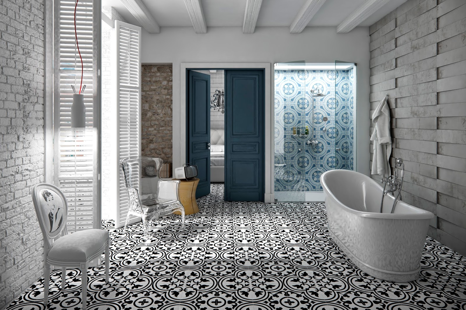 Apavisa uses classic patterns and a straight-forward palette