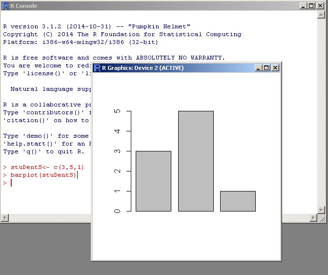 Barplot in R Programming
